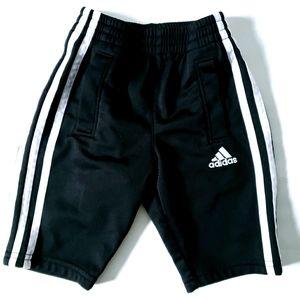 6M ADIDAS Joggers Track Pants Black & White